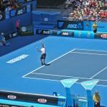 Andy Roddick serving