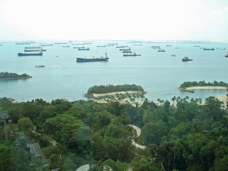 Silosa Beach and the South China Sea
