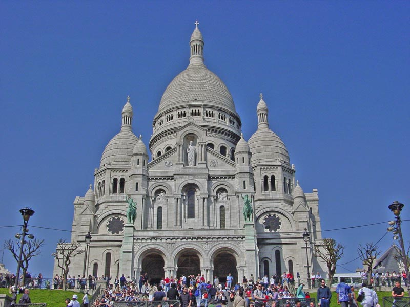 The Basilique du Sacre-Cœur