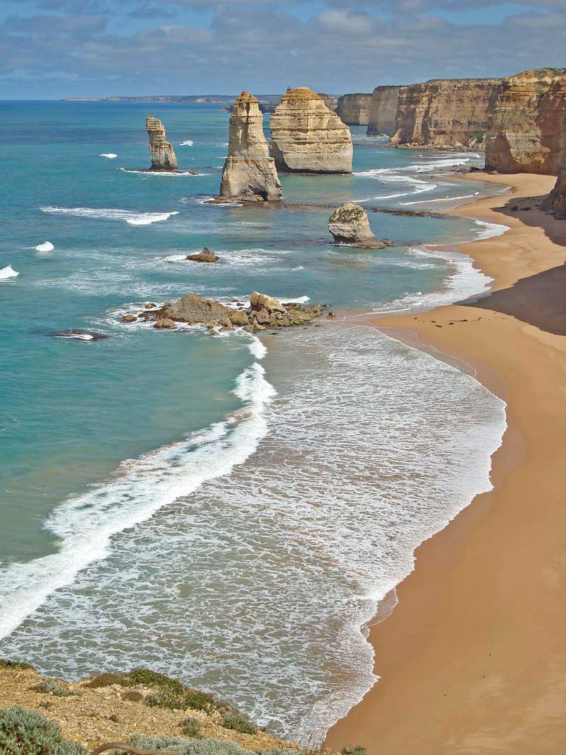 View of the Apostles on the Great Ocean Road