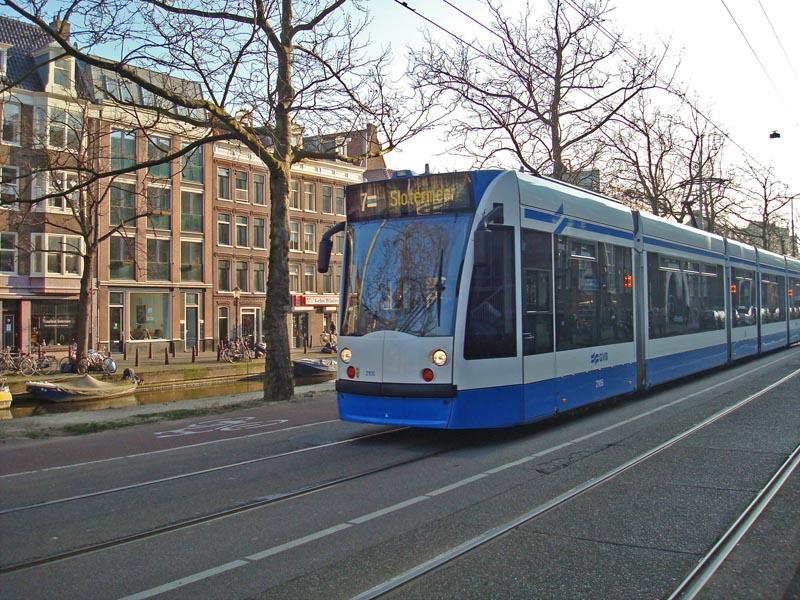 Tram 7 on the Elandsgracht