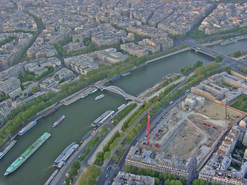 The Seine River in Paris