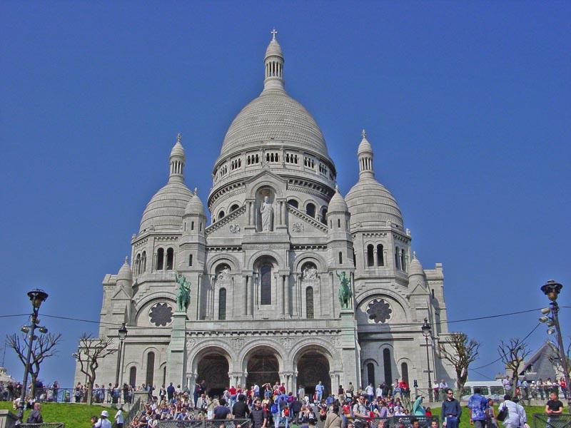 The Basilique du Sacre-Cœur